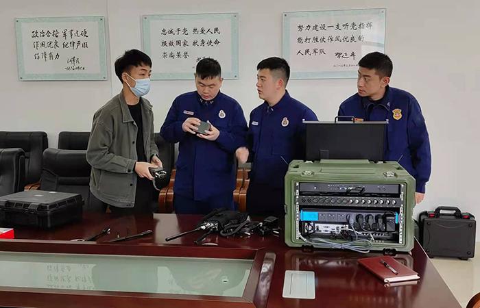 现changshi测之后,贵zhou贵安新区消防支队ren为ag真ren试玩应急通信zhihui系统是真正shi战xing的产品
