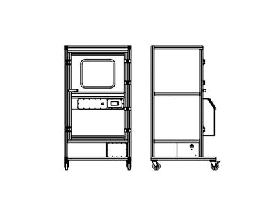 美国 SAFEFUME ARV-60T 502手印熏显柜