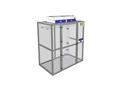 美国 SAFEFUME CA72XL 502 大型步入式手印熏显柜