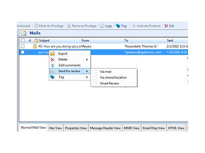 以色列 MK 邮件取证分析软件