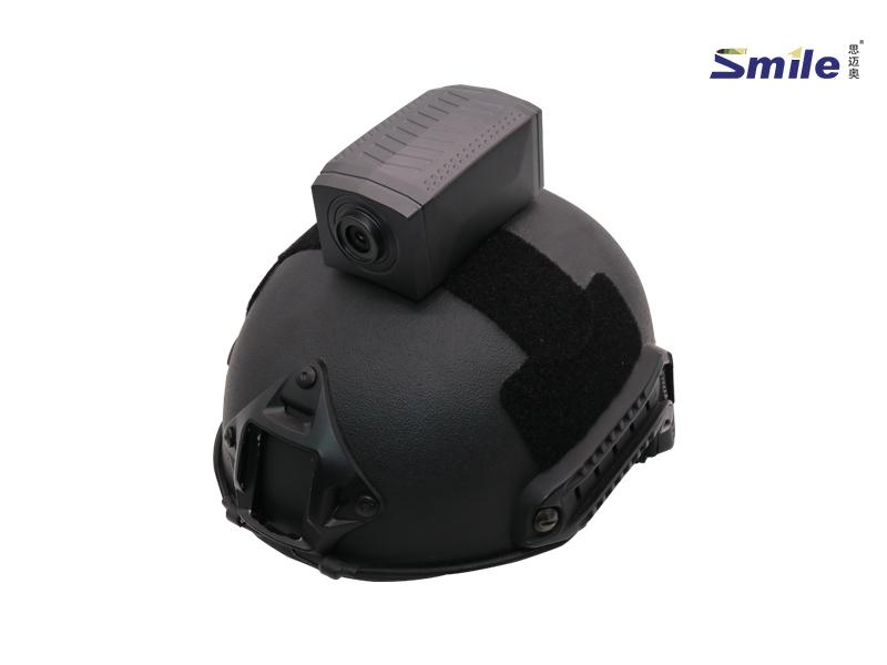 思迈奥SMA-ZPW009头盔单兵摄像头
